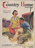 img - for The Country Home Magazine, vol. 60, no. 10 (October 1936) book / textbook / text book