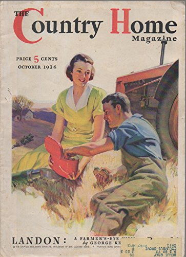 The Country Home Magazine, vol. 60, no. 10 (October 1936)