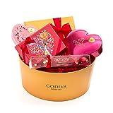 Godiva Chocolatier Valentine's Day Hearts Assorted Gourmet Chocolates Delight Gift Basket