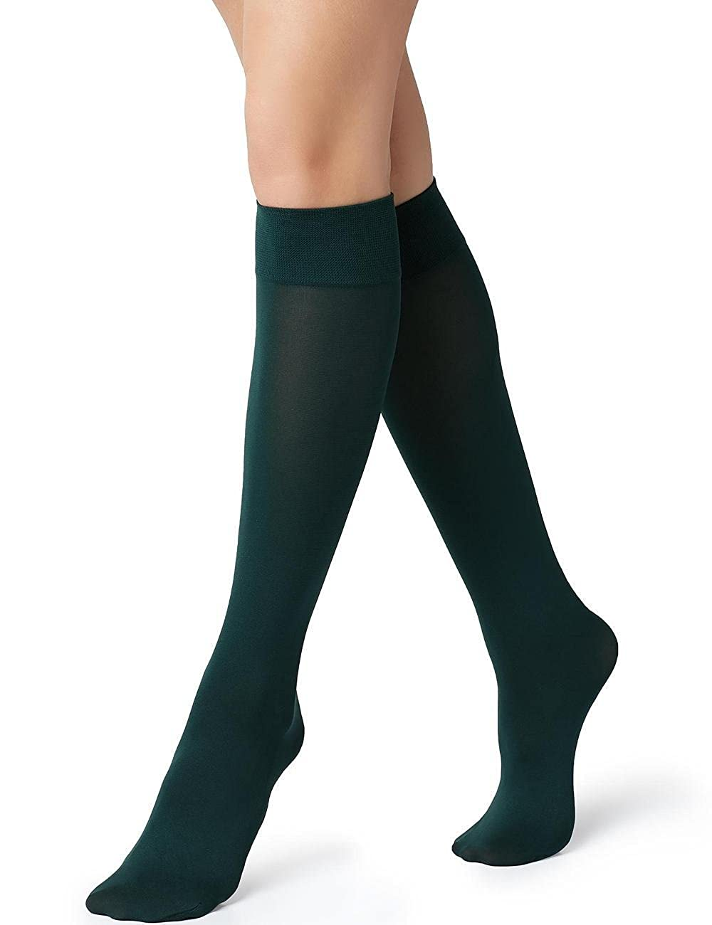 Calzedonia Womens 60 Denier Opaque Microfibre Knee-Highs