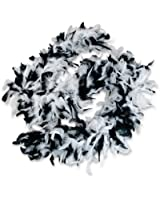 Black and White Boa (1 pc)