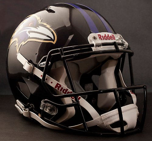 3f0d6caf449 Baltimore Ravens Authentic Helmet