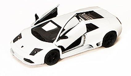 Amazon Com Lamborghini Murcielago Lp640 White Kinsmart 5317d 1