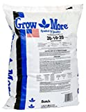 Grow More 5067 20-10-20 Water Soluble Fertilizer, 25-Pound