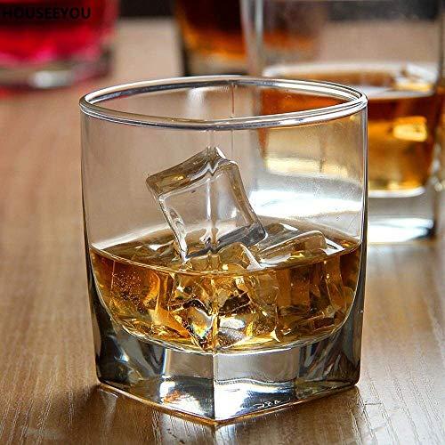 Passaro Glass Whiskey Scotch Glass – 4 Pieces, Transparent, 300 ml Price & Reviews