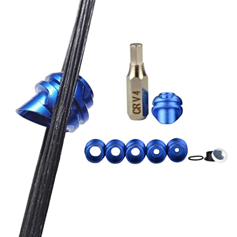 Archery 45 Degree Compound Bow Peep Sight Housing Clarifier Aperture Lens Kit