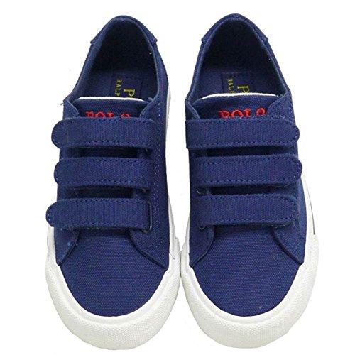 Ralph Lauren Lonas Azul Marino Velcro Polo Slater EZ
