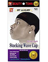 Beauty Town Stocking Wave Caps (2pc/Pack)