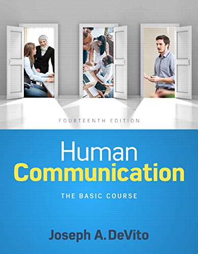 134407083 - Human Communication: The Basic Course (14th Edition)