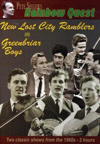 DVD : Pete Seeger - Pete Seeger's Rainbow Quest: New Lost City Ramblers And Greenbriar Boys (Black & White)
