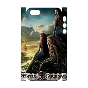 taoyix diy C-EUR Cell phone Protection Cover 3D Case Pirates of the Caribbean For Iphone 5,5S