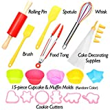 Shacoryze Kids Cooking and Baking Set 40 Pcs with