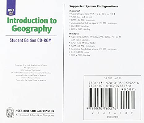 World Regions: Student Edition CD-ROM Introduction to
