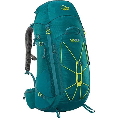 Lowe Alpine Hiking Backpack (Lowe Alpine AirZone Pro 45:55 Hiking Backpack One Size Shaded Spruce)