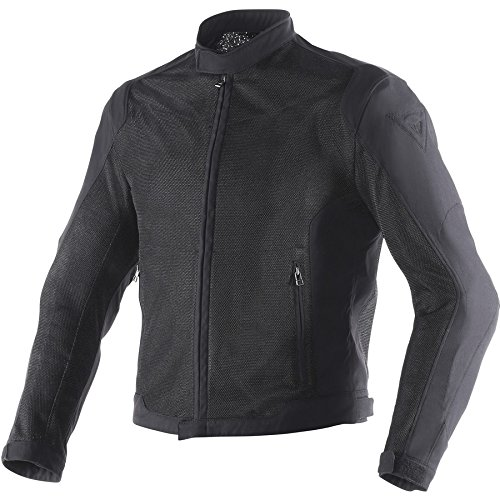 Dainese Air Flux D1 Mesh Mens Textile Motorcycle Jacket Black/Black 54 USA/64 Euro (Air Jacket Textile)
