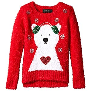Blizzard Bay Girls Ugly Chrismas Sweater