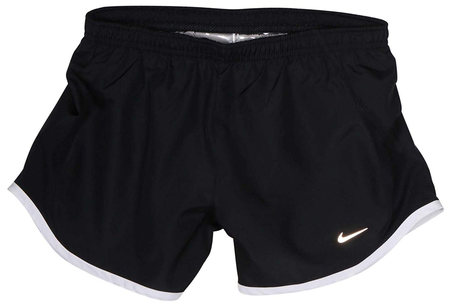 NIKE Dri Fit Girl's 5K Tempo Running Shorts (X-Large, Black) by Nike