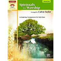 Spirituals For Worship Advanced Piano Book (Sacred Performer Collections) book cover