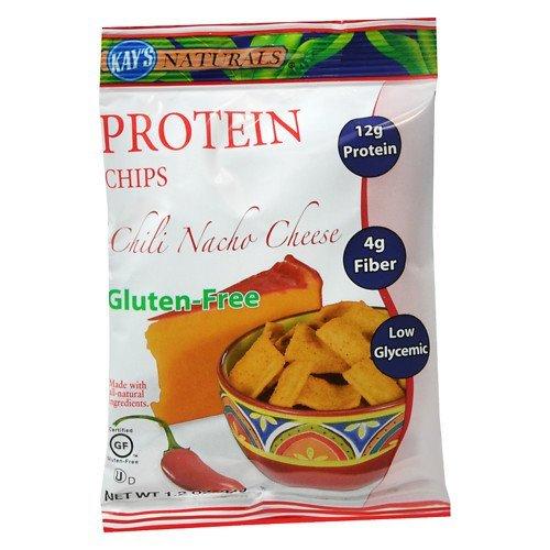 Kay's Naturals Protein Chips , Chili Nacho Cheese, 6 pk 1.2 oz