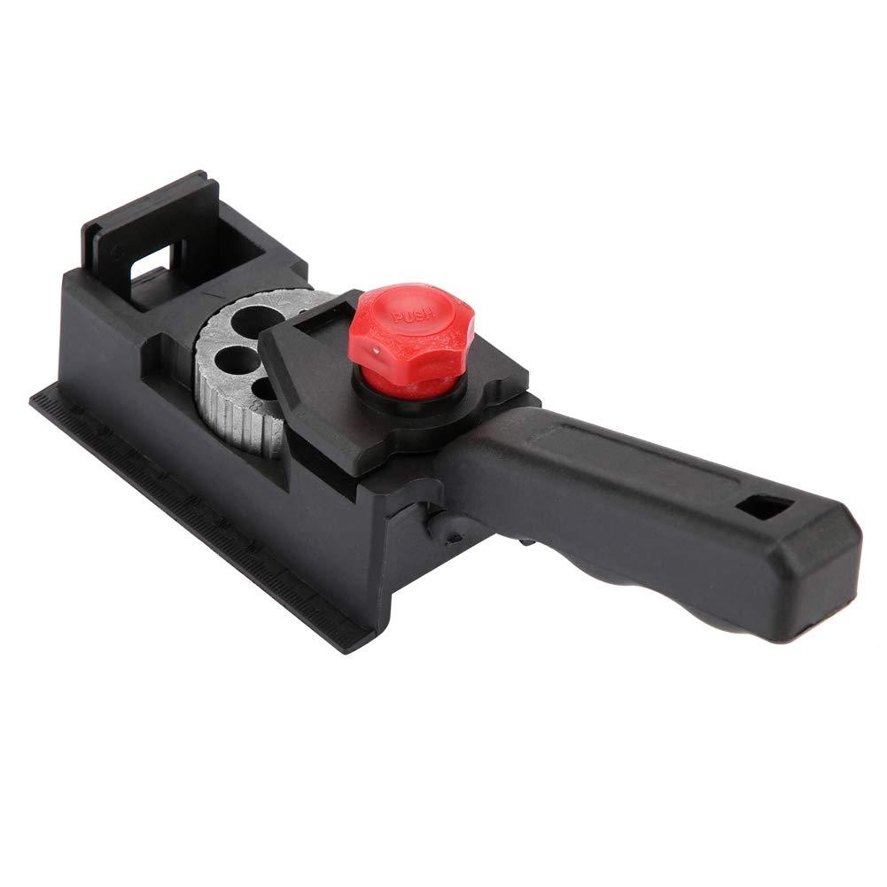 Guida di perforazione 3-12mm Tassello di legno Utensile per posizionatore di posizione di carpenteria per carpenteria a foro dritto
