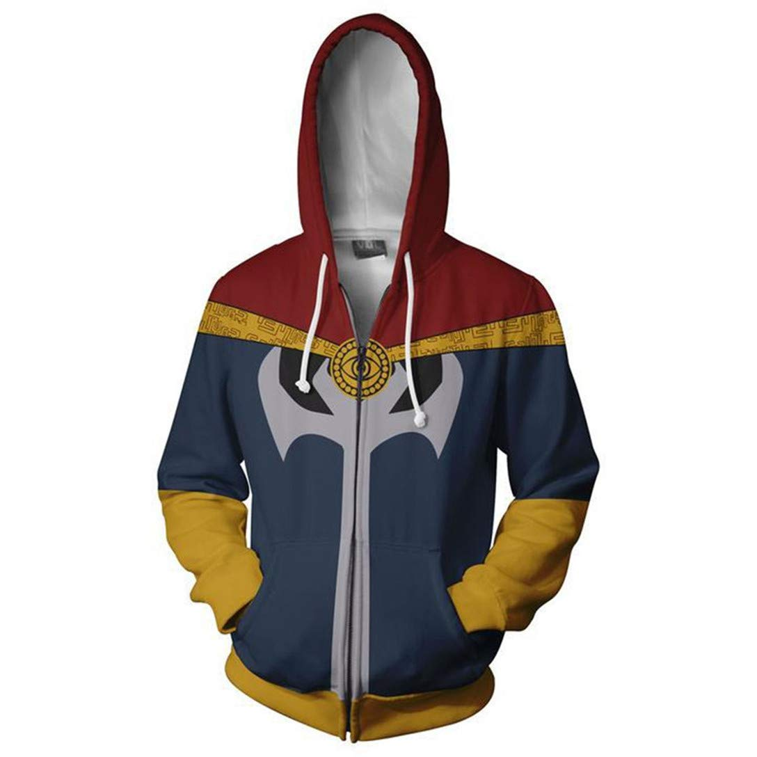 Doctor Strange Small HIMIC E77C Super Hero Fashion Cosplay Hoodie Jacket