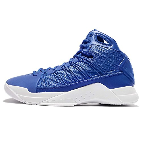 Nike Hyperdunk Lux Lifestyle Basketball Sneakers Hyper Cobalt/Hyper Cobalt New 818137-400 - 10.5 (Nike Knit Skirt)
