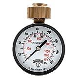 Winters PETW213LF PETW-LF Series Pressure Gauge, 2.5