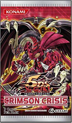 Yu Gi Oh Yugioh Ccg 5DS Crimson Crisis Booster Pack: Amazon.es: Juguetes y juegos