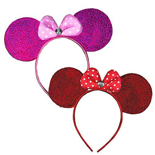 UPD Disney Minnie Mouse Ears Headband Set -