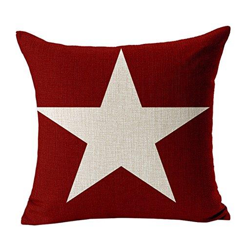 Panno Weihnachten-1 BIGBOBA Lino divano cuscino di Natale modello di dekorativ Sofa Cuscino per Cuscino 45*45/cm contenitore 45/×45CM