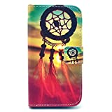 Macoku New Fashion Painting Art Design Leather Wallet Card Flip Cute Cover Case Cover Skin Cell Phone For Samsung Galaxy Avant G386T , Come with