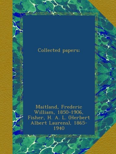 Download Collected papers; ebook