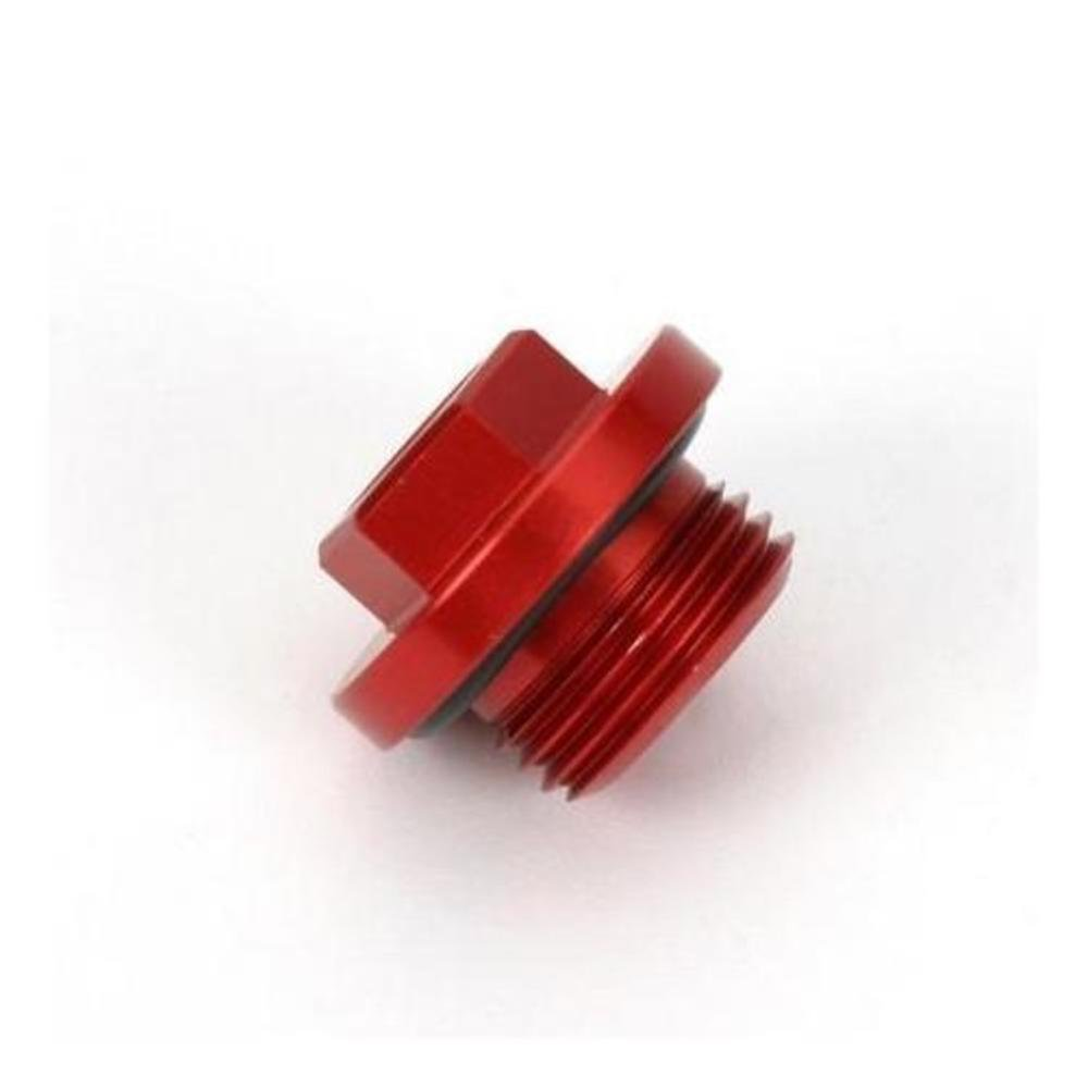Works Connection Oil Filler Plug - Red 24-001 (RED) TRTC10338 tr-343322