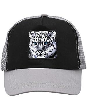 Unisex White Tiger Adjustable Classic Hiphop Hat Baseball Cap Snapback Dad Hat
