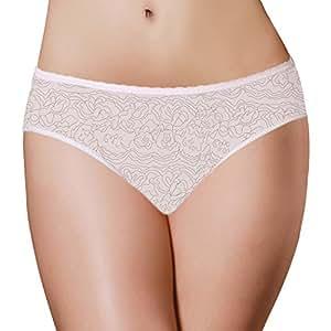 PantiePads Disposable Period Panties with Built-In Menstrual Pad, Large, 3 Count