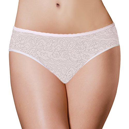 Period Panties 3 Pack Disposable Menstrual Underwear with Built-in Pad by PantiePads