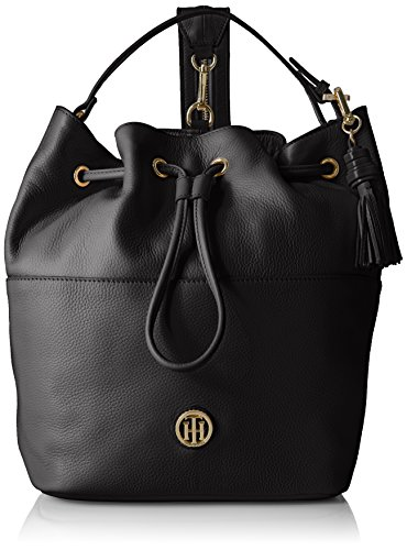 Tommy Hilfiger Women's Backpack TH Summer of Love, Black by Tommy Hilfiger