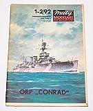 ORP Conrad (Ex HMS Danae) - Paper Card Model in Scale 1/200 - Maly Modelarz