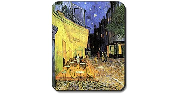Computer Mouse Pad Art Print Painting Van Gogh Twelve Sunflowers 9.25 x 7.75 x 1//4 in Thick Non Slip Backing