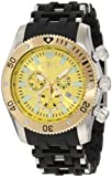 Invicta Men's 10253 Sea Spider Chronograph Yellow Dial Watch, Watch Central