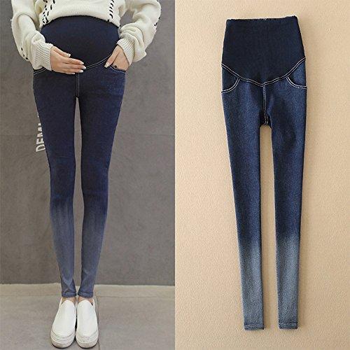 BOZEVON Nuevas Mujeres Embarazadas Pantalones Slim High Cintura Alta Pierna Flaca: Amazon.es: Ropa y accesorios
