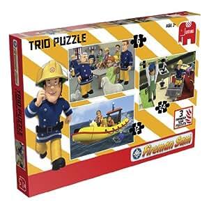 Jumbo - Puzzle Fireman Sam de 24 piezas (Jumbo Games)