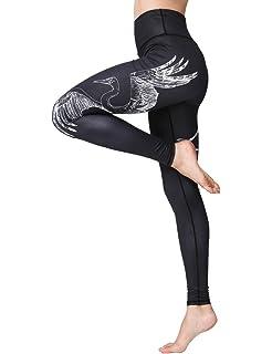 Amazon.com: Fanii Quare - Mallas de yoga para mujer, cintura ...