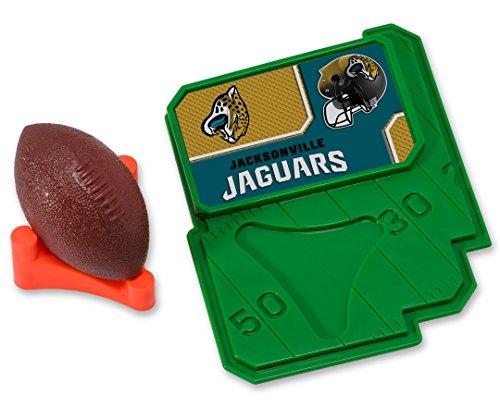 CAKEMAKE NFL Football & Tee, Cake Topper, Jacksonville (Jacksonville Jaguars Cake)