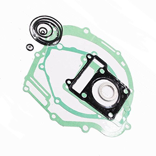 [QUIOSS Set of Gasket Full Complete Kit Engine Cover Replacement For Yamaha TTR 125 2001-2014 Dirt Bike] (Complete Gasket Set Part)