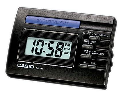 0f5e5e44ac7 Casio 10422 dq-541 - 1R Digital Alarm Clock Black  Amazon.co.uk ...