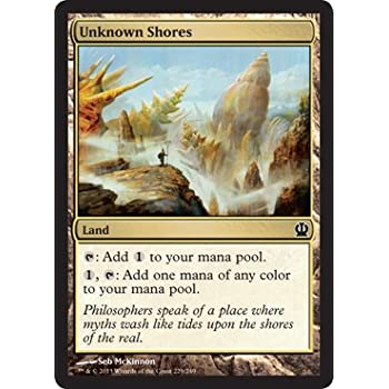 Amazoncom Magic The Gathering Unknown Shores 229249 Theros
