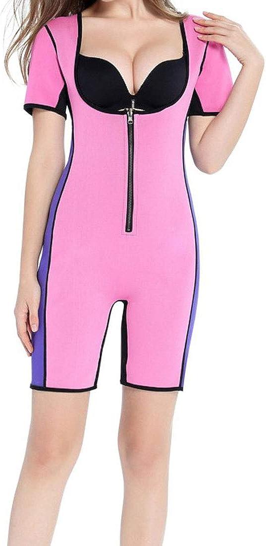 Yayu Women Tummy Control Open Bust Full Body Shaper Underwear Butt Lifter Zipper Body Shaper