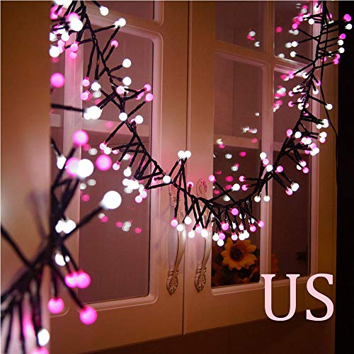 Hot Sale!DEESEE(TM)Double Color LED String Lights Christmas Wedding Party Decor Supplies -