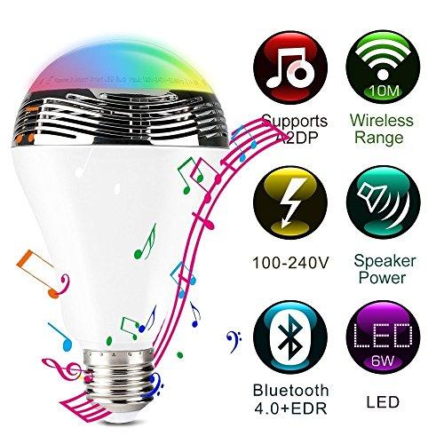 Bluetooth Smart Light Bulb Speaker product image